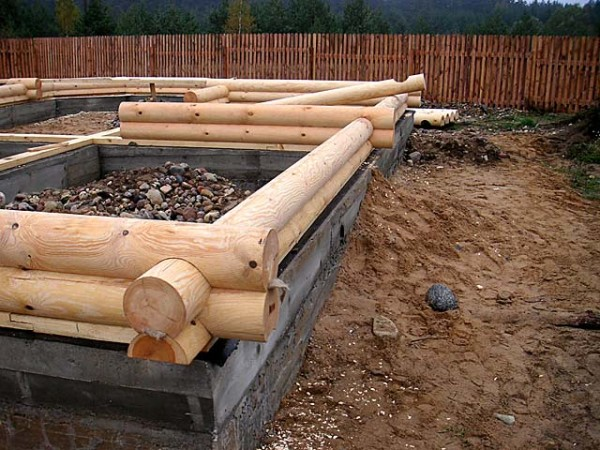 Процесс строительства начат
