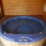 round spa sauna