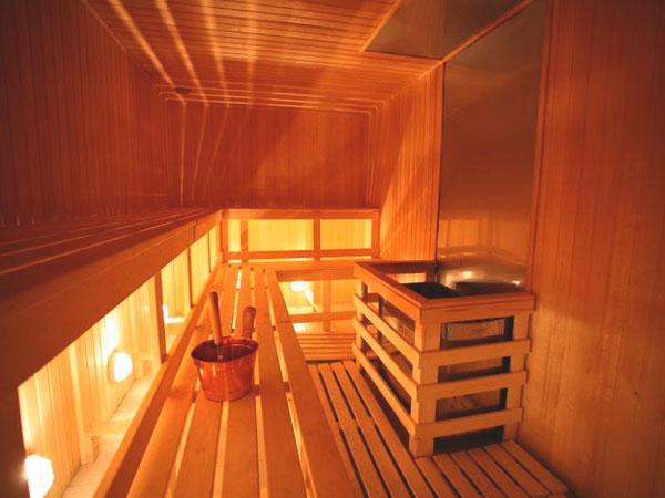 Сауна в домашних условиях с проливным полом