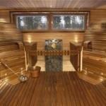 sauna v dome