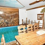 sauna bania s basseinom