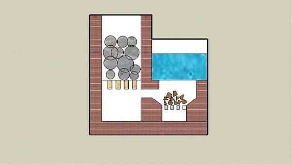 Схема традиционной малогабаритной каменки