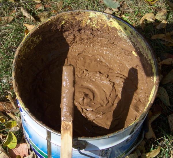 Смесь песка и глины