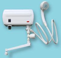 Специальный проточный нагреватель, который часто изготавливается с учетом обслуживания одной точки