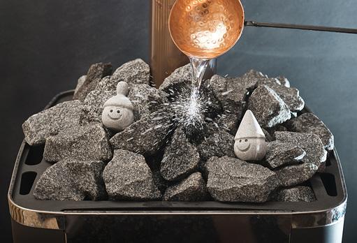 Способность отдавать тепло – одна из основных характеристик банных камней.