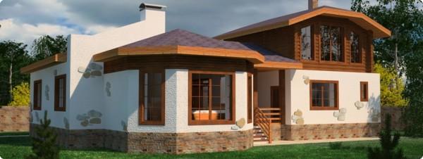 Строить баню и дом под общей крышей выгодно