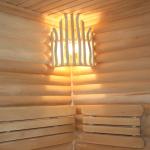 Светильники для бани в парную