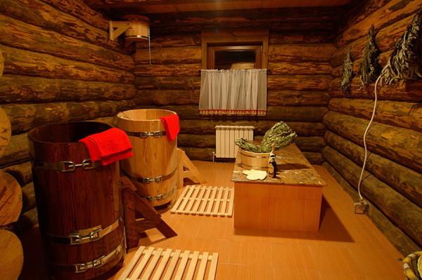 Тёплая баня – настоящая баня
