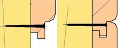 Третий способ – через шип