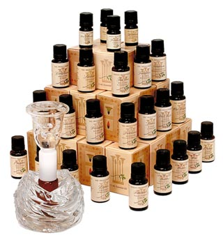 У мыловаров-профи собираются целые коллекции эфирных масел