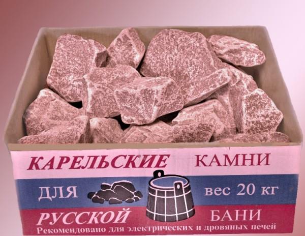 Упаковка малинового кварцита