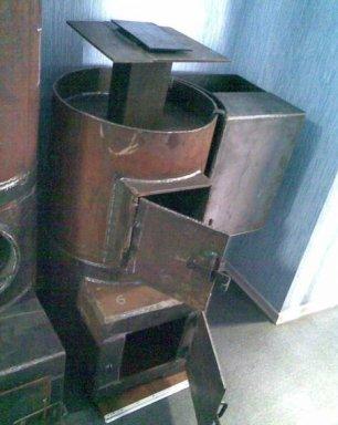 Круглые печи для бани своими руками из металла