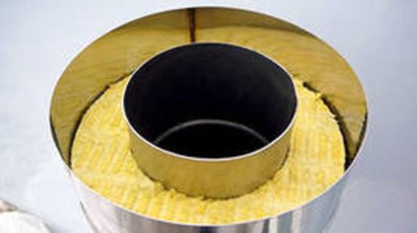 Утепление банной трубы