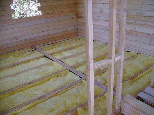 Утепление деревянного подполья