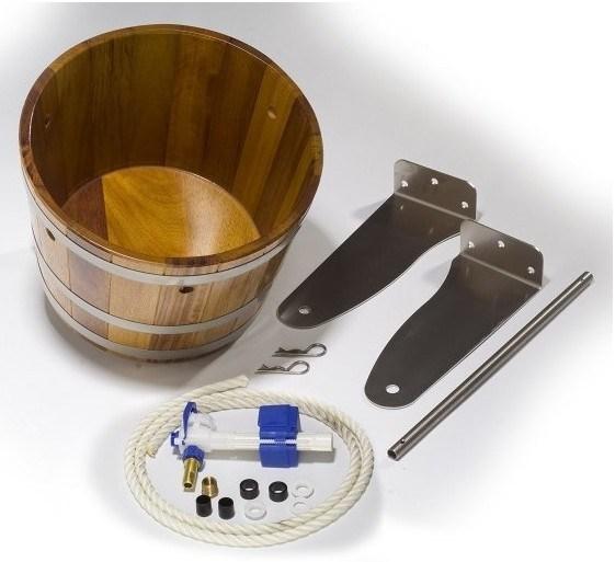 В комплект поставки устройства для обливания входят крепежные элементы.