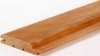 Вагонка из данной породы древесины