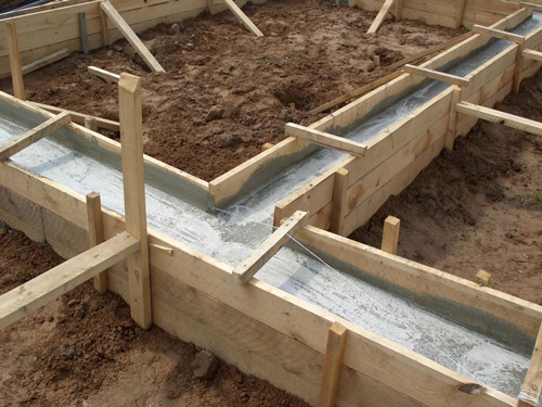 Застывающий бетон